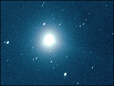 Comet C/2007 W1 (Boattini) - pic by J. Zakrajsek and H. Mikuz, Crni Vrh Observatory, Slovenia, 20 July 08