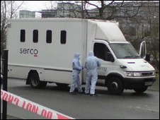 Prison Crime Scene http://news.bbc.co.uk/2/hi/uk_news/england/london/7823776.stm