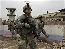 US soldiers in Iraq - 10/12/2008