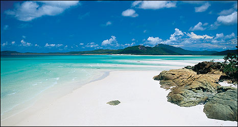 Tonge Point on Whitsunday Island, Queensland