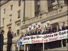 Stormont protest
