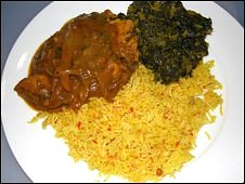 Curry and rice (generic)