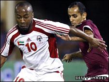 UAE footballer Ismail Mattar
