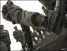 DR Congo army parade