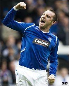 Rangers striker Kris Boyd