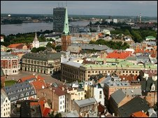 Riga skyline