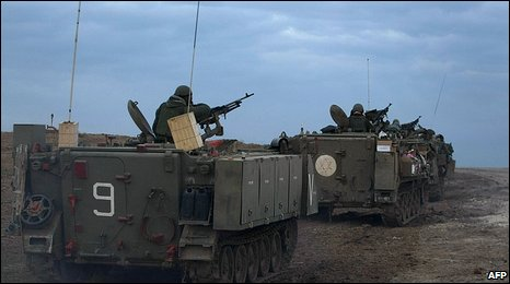 Israeli armoured personnel carriers (12.1.09)
