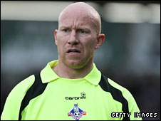 Lee Hughes gave Oldham a first-half lead