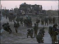Reservistas israelíes