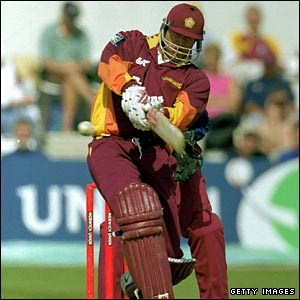 Matthew Hayden in action for Northamptonshire