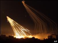 Gaza baja fuertes bombardeos.