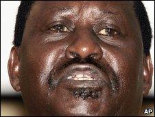 Kenyan PM Raila Odinga