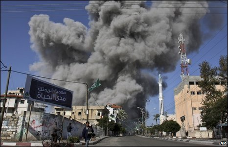 Israeli bombardment of Gaza