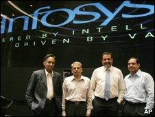 Infosys management team