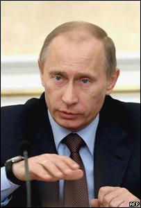 Премьер-министр России Владимир Путин 12 января