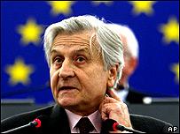 Jean Claude Trichet, Presidente del Banco Central Europeo.