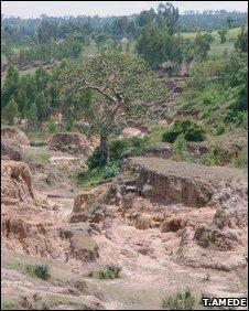 Severe soil degradation in Sub-Saharan Africa