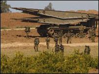 Израильские солдаты в Газе