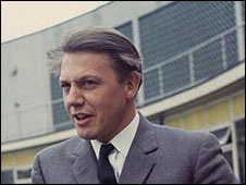 Sir David Attenborough in 1967