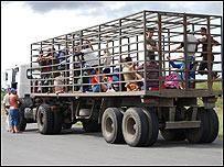 Camión en Cuba / Foto: Raquel Pérez
