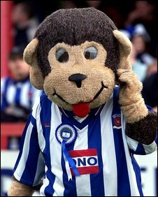 Hartlepool United monkey mascot