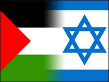 Israel Palastine flag