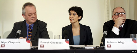 Nigel Chapman, Pooneh Ghoddoosi, and Behrouz Afagh (8 January 2009)