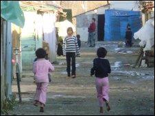 children in Cesmin Lug