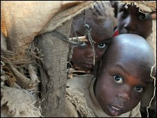 Refugees from Darfur