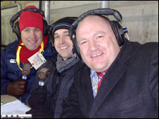 Eamonn Keane, Dewi Thomas and Rick O'Shea