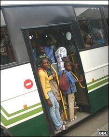 Ivory Coast bus