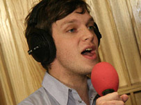 Ed Macfarlane from Friendly Fires