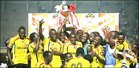 Uganda CECAFA Cup winners 2009