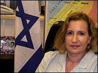 Mayor Avital Leibovich, portavoz del ej�rcito israel�.