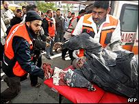 Herido en Gaza