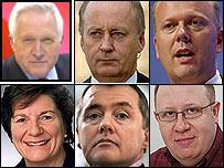 David Dimbleby, Shaun Woodward, Chris Grayling, Baroness Tonge, Willie Walsh and Stephen Pollard