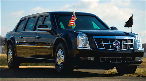 2009 presidential limousine (Picture courtesy of the US Secret Service)