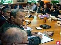 داخل الاجتماع الوزاري الإسرائيلي