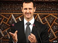 Bashar al-Assad, presidente de Siria