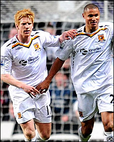 Paul McShane and Daniel Cousin