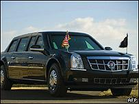 Limusina de Barack Obama