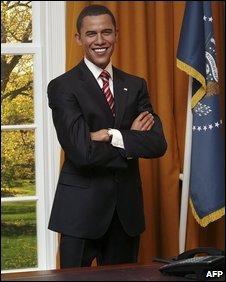Barack Obama waxwork