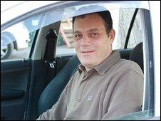 Sderot Taxi driver Eli Atiya