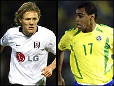Jimmy Bullard and Denilson