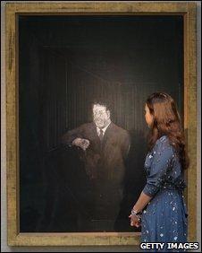 Francis Bacon's Man In Blue VI