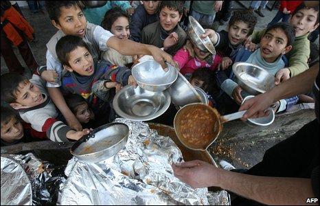 Jabalia emergency food provision (15/1/2009)