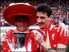 Kenny Dalglish and Ian Rush