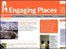 Engaging places website