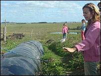 Ing. Agrónoma Ana Castillos, a cargo del proyecto de biodigestores en Uruguay