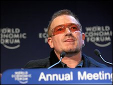 Bono at the World Economic Forum 2008